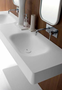 lavabo integrado Corian